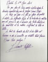 Dedicace Jeanine LECONTE RAFFALLI